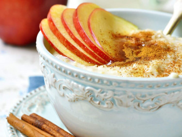 Comforting Apple Porridge